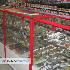 Витрины для магазина строительных материалов